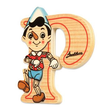 Picture of BIG LETTER PINOCCHIO P