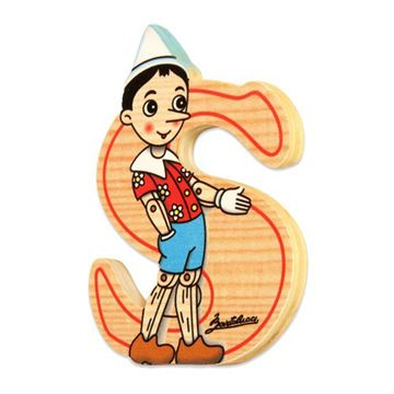 Picture of BIG LETTER PINOCCHIO S