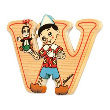 Picture of BIG LETTER PINOCCHIO W