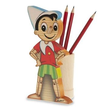 Picture of BIG PEN HOLDER COLLODI PINOCCHIO