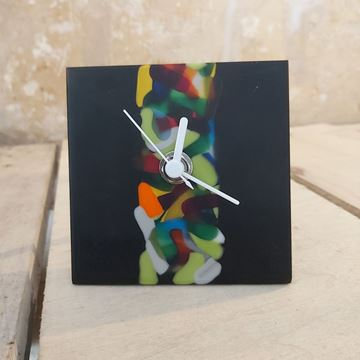 Picture of TABLE CLOCK BY MURANO GLASS