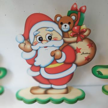 Picture of SANTA TABLE DECORATION