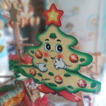 Picture of CHRISTMAS TREE DOOR DECORATION