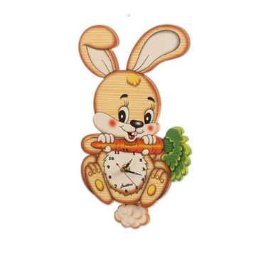 Picture of MEDIUM CLOCK NEW RABBIT