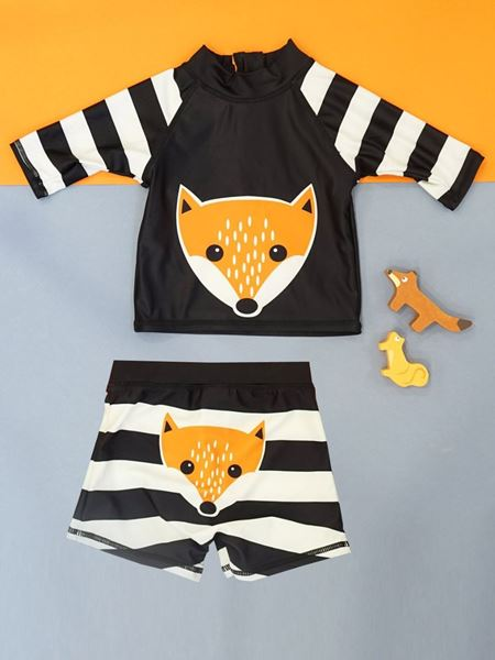 Picture of Discounted Set of Fox  SwimTop + Shorts (Boy)