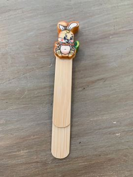 Picture of BOOKMARK CARROT RABBIT