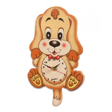 Picture of MEDIUM CLOCK BASSET HOUND DOG