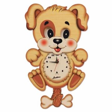 Picture of MOVING EYES CLOCK DOG